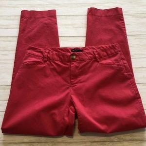 GAP Chino Khaki PantsSz 2 Hot Pink